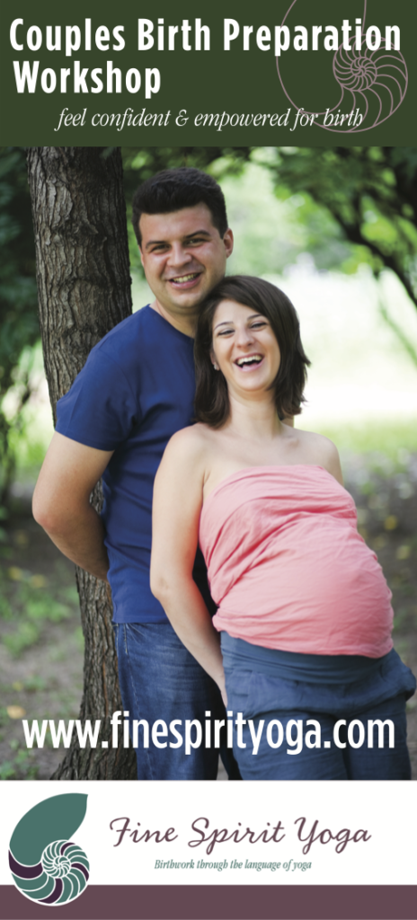Couples Birth Prep Workshop Sidebar Poster OUTLINES